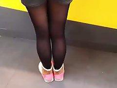 Chinese, Asian, Stockings