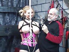 BDSM, Blonde, Mature, Big Boobs, Lingerie