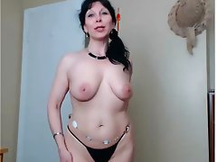 Brunette, Czech, Masturbation, Mature