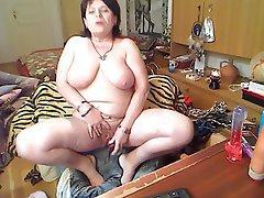 Big Boobs, Granny, Mature, Webcam