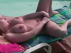 Blonde, Close Up, Hairy, Masturbation