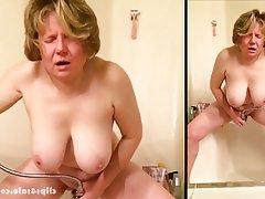 Masturbation, Mature, MILF, Orgasm, Voyeur