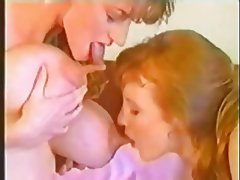 Close Up, Lesbian, Nipples, Vintage