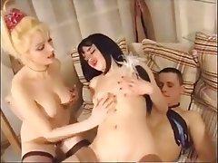 Hardcore, Russian, Threesome