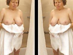 Big Boobs, Big Butts, Mature, Shower, Voyeur