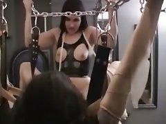 BDSM, Femdom, Handjob, Latex, Strapon