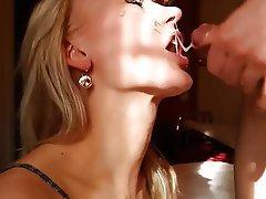 Amateur, Close Up, Cum in mouth