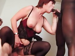 Anal, Group Sex, Interracial, Mature
