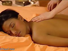 Asian, Brunette, Massage
