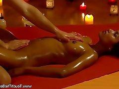 Brunette, Massage, MILF, Pussy