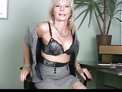 Mature, Granny, Masturbation, Mature