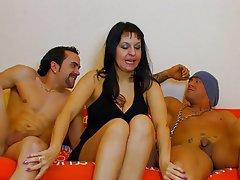 Anal, Mature, MILF, Threesome
