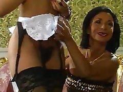 Maid, Mature, Vintage, Black