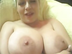 BBW, Big Boobs, Blonde, Gangbang