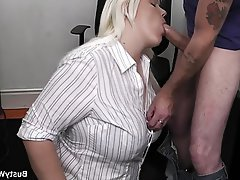 BBW, Big Boobs, Big Butts, Office