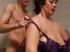 Big boobed german wife getting fucked and jizzed 1