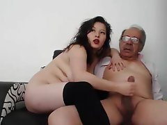 Amateur, Mature, Handjob, Old and Young