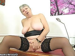 Mature, MILF, British, Granny, Mature