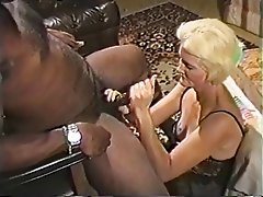 Blowjob, Facial, Mature, Interracial