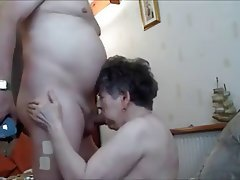 Cumshot, Old and Young, Amateur, Blowjob