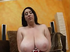 BBW, Big Boobs, Blowjob