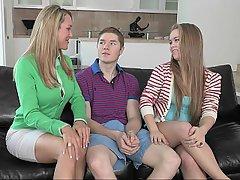 Blonde, Coed, Girlfriend, Mature