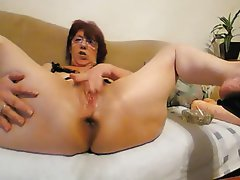 Old mature anal