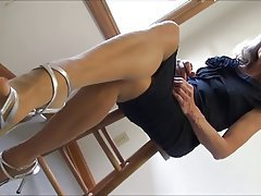 Foot Fetish, Mature, Pantyhose, Stockings
