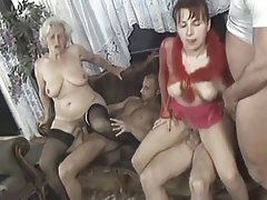 Amateur, Granny, Group Sex, Mature, MILF