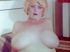 Big Boobs, Hairy, Masturbation, Vintage