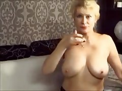 Mature, Amateur, Masturbation, Granny