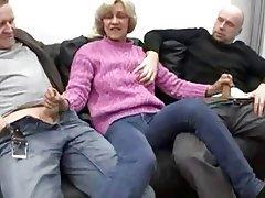 Blowjob, Facial, German, Granny, Old and Young