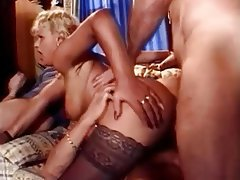 Anal, Blonde, Big Boobs, Double Penetration, Mature