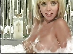 Masturbation, Blonde, Mature, Pantyhose