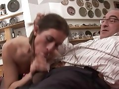 Close Up, Cumshot, Italian, Old and Young, Pornstar