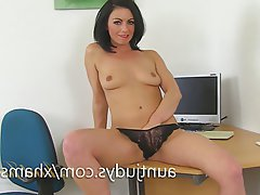 Masturbation, Mature, MILF, Spanish