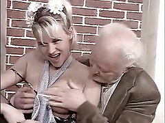 Big Boobs, Blonde, Blowjob, Facial, Mature