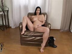 Babe, Big Tits, Casting, Ebony, Feet